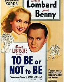 "VIERNES 16 DE NOVIEMBRE, 19,30: CINE-FORUM: ""TO BE OR NO TO BE"" (1942)"